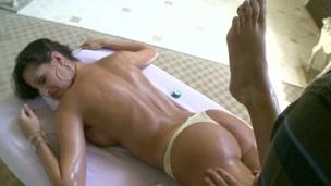 tenåring hardcore blowjob barbert pornostjerne massasje olje