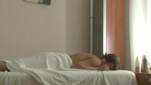 brunette rype puling massasje ass sensuell cunt hunk