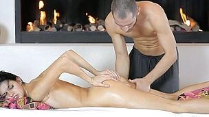 sexy babe massasje kropp