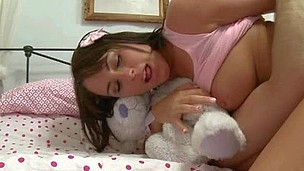 Guy fucks cute chick in her tight asshole and magic mouth