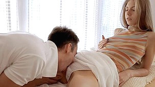 Stud licks sweet loving hole previous to stuffing it by his pub