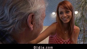 This old fellow comes to Erica's Fontes casting to try his chance. But grandpa has not solely luck; that guy also gets fucked by this beautiful juvenile beauty. This Babe kisses and sucks his old 10-Pounder like the most good!